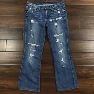 Joes Jeans 28 Boot Cut Provocateur Distressed